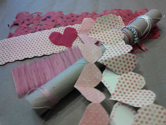 Changeable Valentine decorating ideas