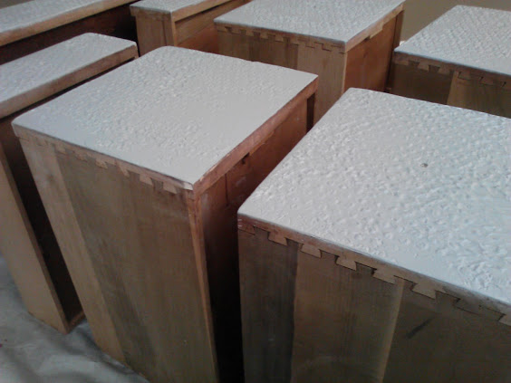 how-to-apply-plaster-texture-to-drawer-fronts