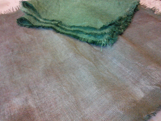 dyed-burlap-paint-added