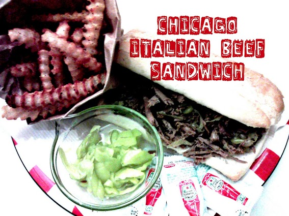 Chicago-Italian-beef-sandwich-in-a-crock-pot-5-ingredients-or-less
