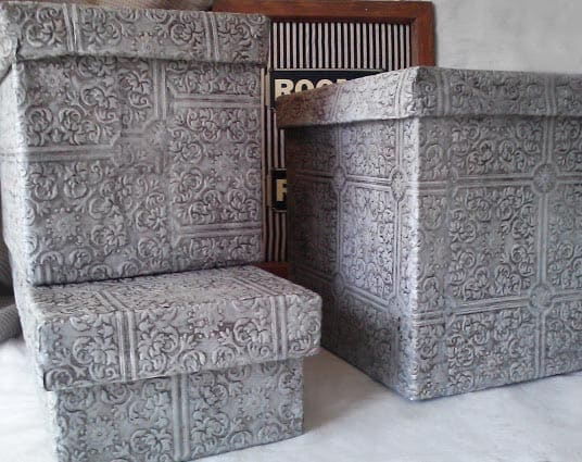 faux-tin-ceiling-storage-box-with-lid