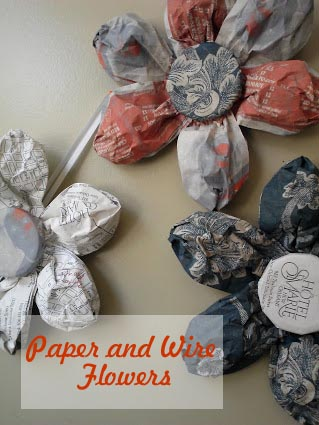 how-to-make-paper-and-wire-flowers