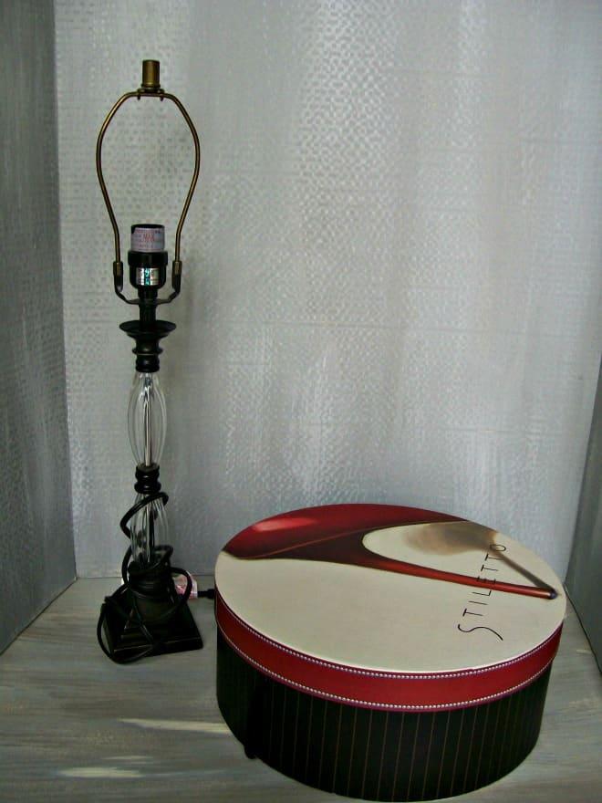 hat box lamp shade supplies