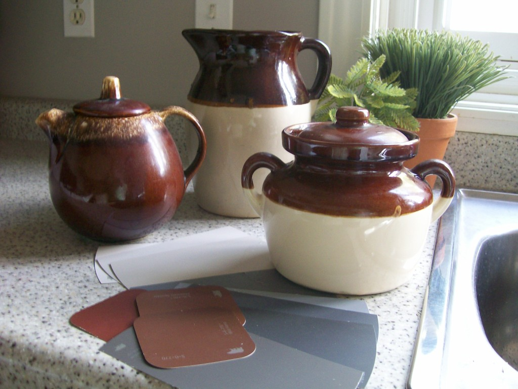 Pottery-inspiration - Kitchen update - pick your palette