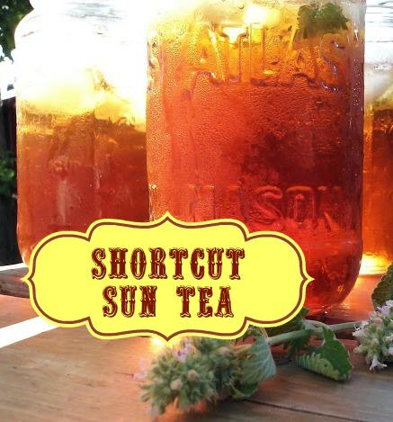 Shortcut Sun Tea - StowandTellU