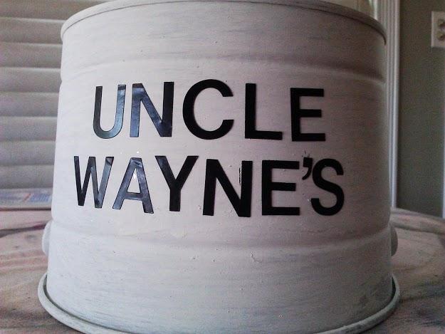 center vinyl lettering