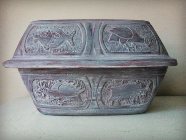 clay pot roaster grey-dark