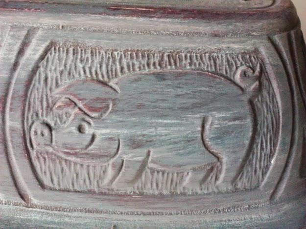 clay pot roaster grey pig