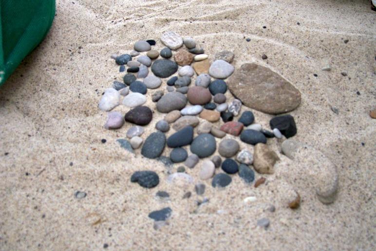 Collected rocks- Warren Dunes Michigan-StowandTellU