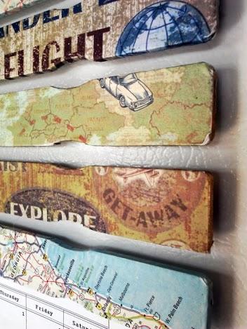 Decoupage Paint Stick Magnets - StowandTellU