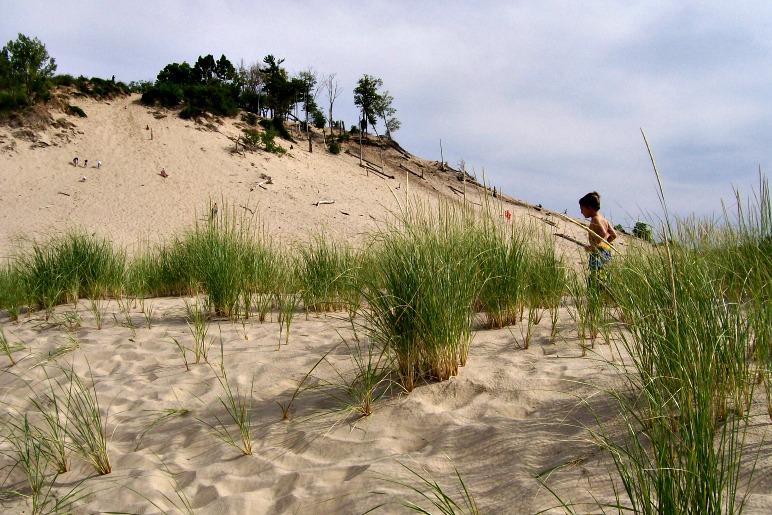 the big hill-warren dunes mighigan