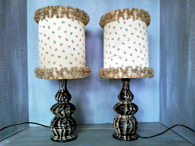 How to make a Ruffled Trimmed Lamp shade