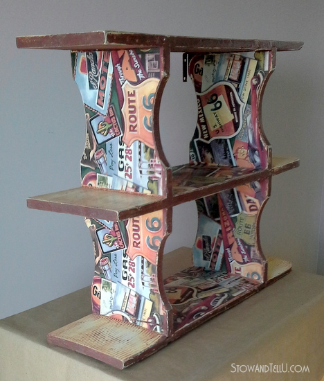 Route 66 shelf-StowandTellU.com