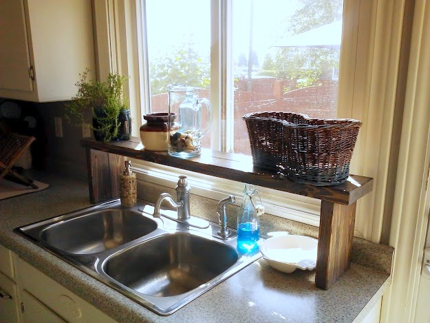 Sunbleached over the sink shelf2