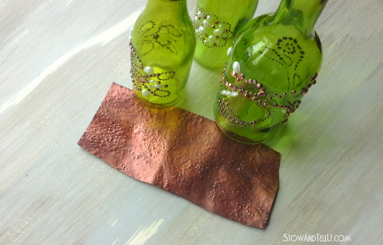 faux-hammered-copper-made-from-a-soda-can