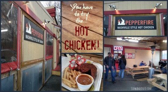 You have to try the Nashville hot chicken