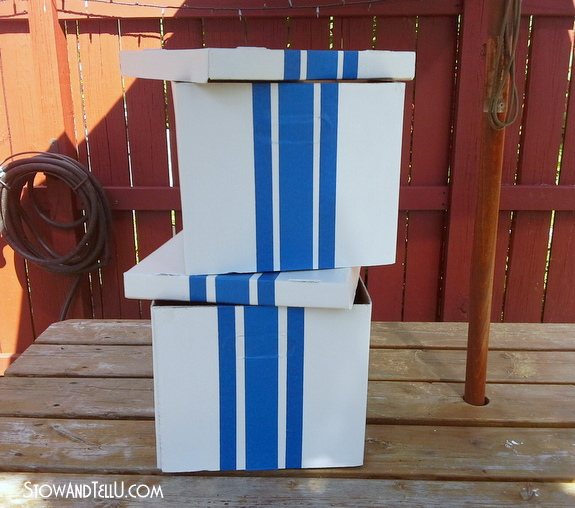 card-board-box-with-grainsack-painters-tape-lines