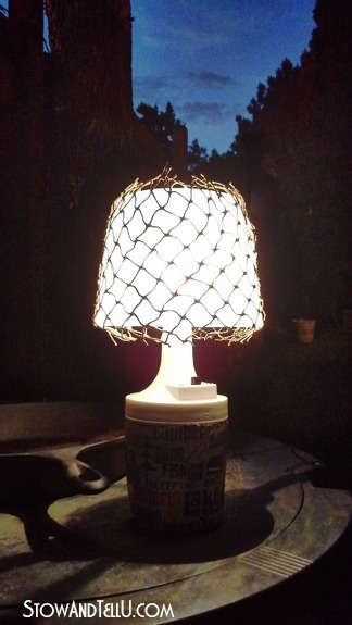 fish-net-decoupaged-camping-light