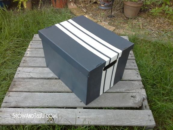 grain-sack-stripe-painted-boxes