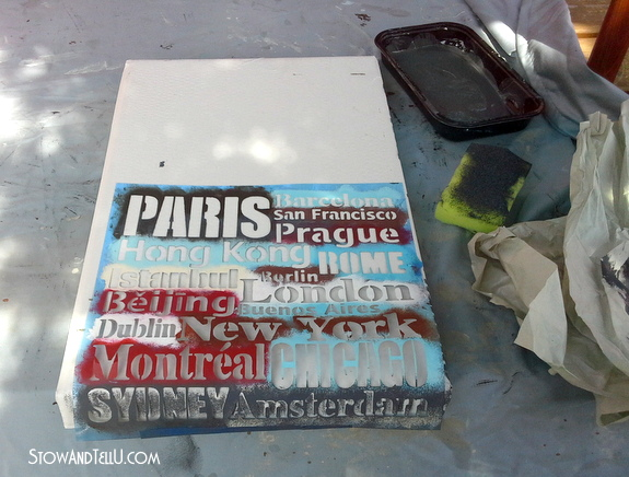 how-to-make-stenciled-storage-box-with-lid