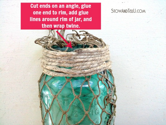 wrap-twine-around-rim-of-jar