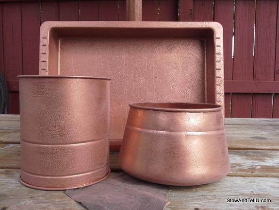 faux-copper-spray-paint-technique, StowAndTellU.com